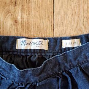 Madewell Skirts - Madewell Denim A-line Mini Skirt
